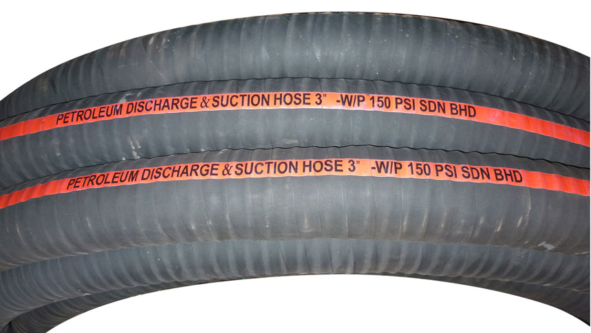 Oil Suction Amp Discharge Hose 150psi Oil Suction