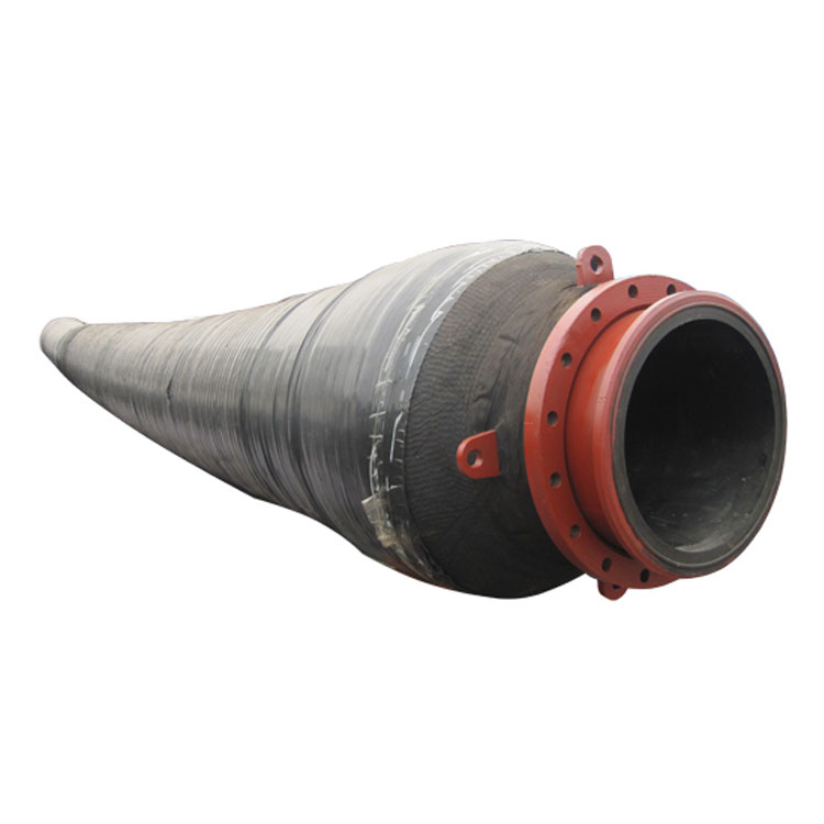 Floating dredging hose